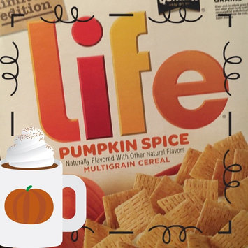 Quaker® Life® Pumpkin Spice Cereal  13 oz. Box uploaded by Ashleigh D.
