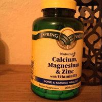 Spring Valley Calcium Magnesium & Zinc Bone Health Dietary Supplement 250 ct uploaded by Phylesha C.