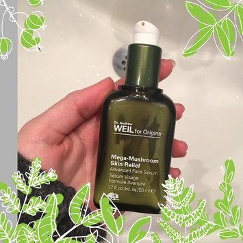 Photo of Origins Dr. Andrew Weil for Origins™ Mega-Mushroom Relief & Resilience Advanced Face Serum uploaded by Amanda Å.