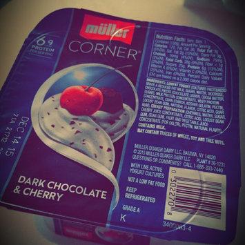 Photo of Muller® Corner Lowfat Dark Chocolate & Cherry Yogurt uploaded by Amina R.