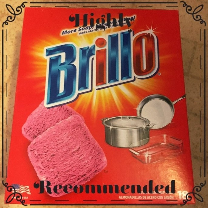 Brillo Scratchless Cleaning Pad uploaded by Blythe S.