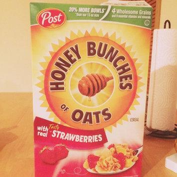 Photo of Post Foods, LLC HNY BNCH OAT STRWBRY 16.5OZ uploaded by Jennifer L.