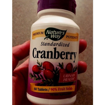 Photo of tures Way Cranberry Standardized Extract by Nature's Way - 60 Tablets uploaded by Anna C.