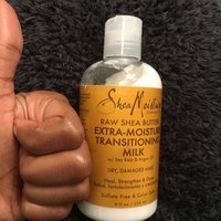 SheaMoisture Raw Shea Butter Extra-Moisture Transitioning Milk uploaded by Cindy P.