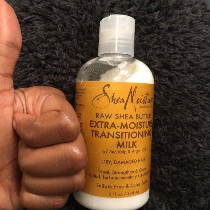 SheaMoisture Raw Shea Butter Extra-Moisture Transitioning ...