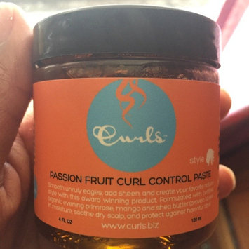 Photo of Curls Control Paste Passion Fruit 4 oz uploaded by Kia S.