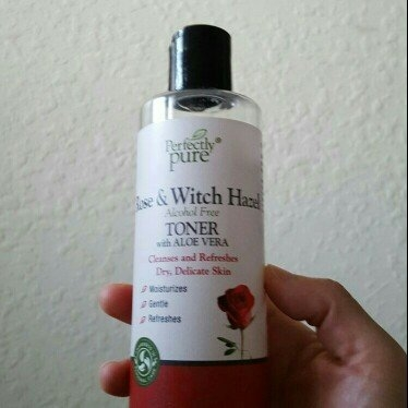 Perfectly Pure Rose & Witch Hazel Toner-8 oz Liquid uploaded by Anne N.