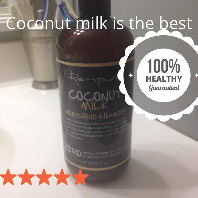 Renpure Coconut Milk Nourishing Shampoo, 16 fl oz
