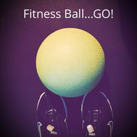 C9 Champion C9 Core Fitness Ball - AB - Basic - 55cm w/H. Pump - Lime uploaded by Veronica M.