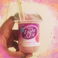 Dannon® Light & Fit® Raspberry Non-Fat Yogurt uploaded by Stacy K.