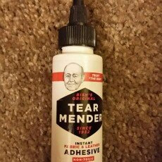 Photo of Tear Mender Instant Fabric & Leather Adhesive-2 Ounces uploaded by Rachael M.