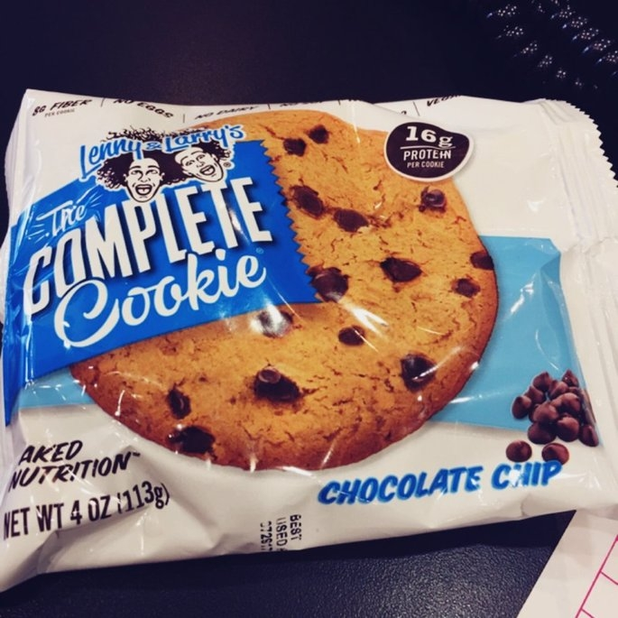 Lenny & Larry's The Complete Cookie, Chocolate Chip, 4 oz, 12 ct uploaded by Denise M.