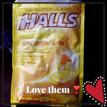 Photo of HALLS Honey Lemon Cough Menthol Drops uploaded by Vicky A.