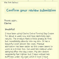 Clarins Extra-Firming Day Cream - All Skin Types uploaded by April B.