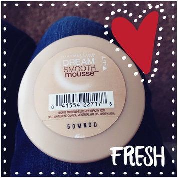 Maybelline Dream Smooth Mousse Foundation uploaded by Melanie T.