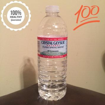 Photo of Crystal Geyser® Alpine 1 L Natural Spring Water 12 Ct Plastic Bottles uploaded by Meaghan W.