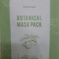 Bon Vivant- Mint + Tea Tree Botanical Mask Pack 10 each uploaded by Giselle N.