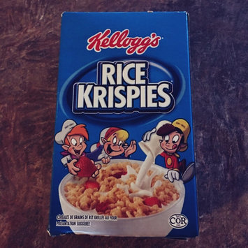 Kellogg's Rice Krispies Cereal uploaded by Wanda B.
