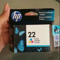 HP 22 Tri-color Original Ink Cartridge - Color - Inkjet uploaded by Luz A.