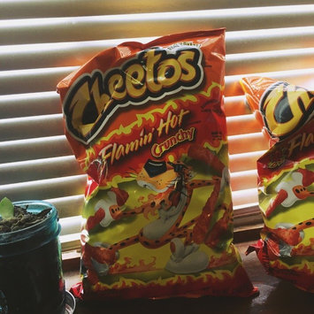 Cheetos Flamin' Hot Crunchy Cheese Flavored Snacks uploaded by Jessy F.