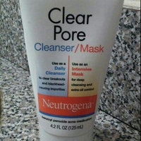 Neutrogena® Clear Pore Cleanser/Mask uploaded by shirnika P.