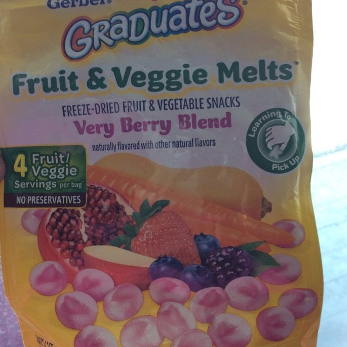 Gerber Graduates Fruit & Veggie Melts uploaded by Dee N.
