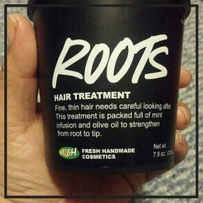 Photo of LUSH Cosmetics Roots Hair Treatment uploaded by Veronica G.