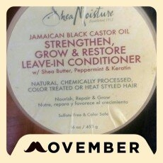 SheaMoisture Strengthen, Grow & Restore Leave-In Conditioner, Jamaican Black Castor Oil, 16 oz uploaded by LeAnna J.