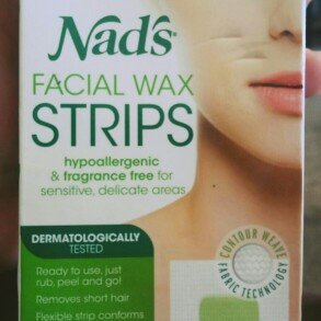 Nad's Hypoallergenic Facial Wax Strips uploaded by naomi 🖤.
