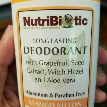 Photo of NutriBiotic Deodorant Stick Mango Melon - 2.6 oz uploaded by Annie H.