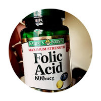 Nature's Bounty Natural Folic Acid 800 mcg Dietary Supplement uploaded by Alexis P.