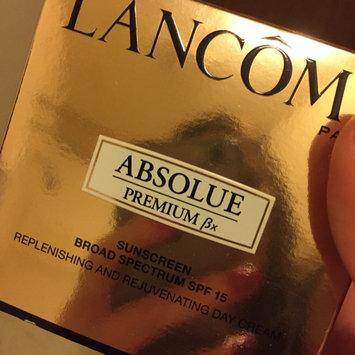 Photo of Lancôme Absolue Premium βx Day Cream Sunscreen Broad Spectrum SPF 15 Replenishing and Rejuvenating Moisturizer uploaded by Lisa F.