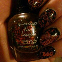 KLEANCOLOR Nail Lacquer 4 - Chunky Holo Black uploaded by sara f.