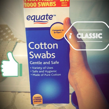 Photo of Equate Cotton Swabs uploaded by Heather F.
