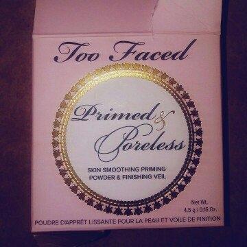 Too Faced Primed & Poreless Loose Powder uploaded by Sandra R.