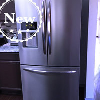 Frigidaire Gallery Stainless Steel French Door Counter-Depth Refrigerator uploaded by Beth E.