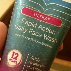 Clearasil Ultra Rapid Action Face Scrub uploaded by Erin C.