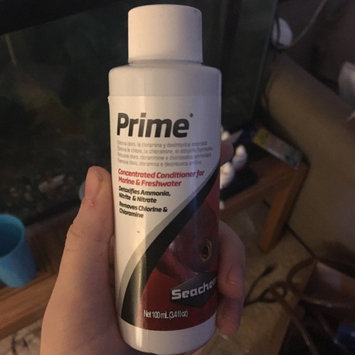 Seachem Prime Aquarium Water Conditioner uploaded by Claire M.