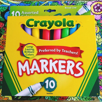 Photo of Crayola 10ct Broad Markers - Assorted Colors uploaded by Chelsea D.