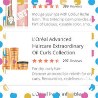 L'Oréal Advanced Haircare Extraordinary Oil Curls Collection uploaded by Leidy R.