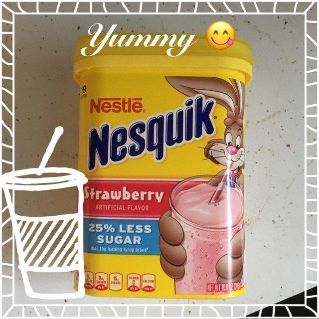 Nestlé Nesquik Strawberry uploaded by mandy s.