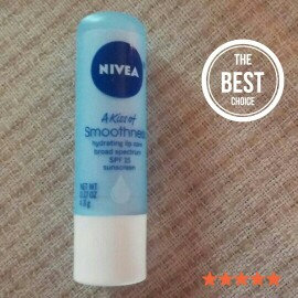 Nivea Smoothness Hydrating Lip Care, SPF 15 uploaded by Jessica B.