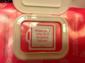 Photo of Yes To Grapefruit Facial Wipes Correct & Repair Towelettes uploaded by Maša M.