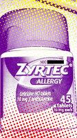 Zyrtec Allergy Tablets uploaded by lindsay g.
