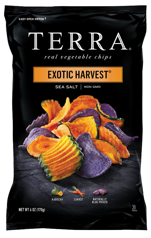 TERRA® Exotic Vegetable Chips Exotic Harvest® Sea Salt