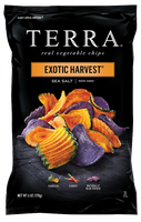 TERRA® Exotic Vegetable Chips Exotic Harvest® Sea Salt