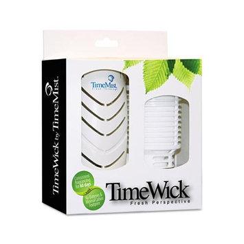 Waterbury Companies 326160TMR Timewick Air Freshener Kit Mango Smoothie 1.217 Oz Cartridge