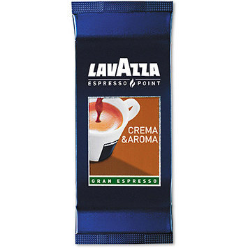 Lavazza Crema Aroma Arabica/Robusta Espresso Point Cartridges, 100ct