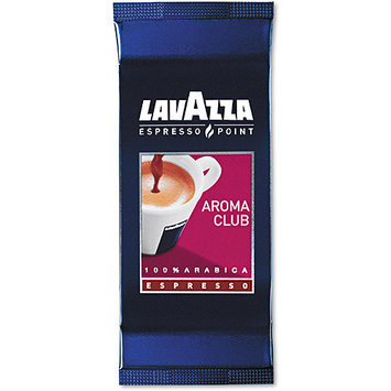 Lavazza 0470 Espresso Point Cartridges Aroma Club 100% Arabica Blend .25oz 100/Box