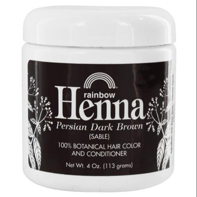 Rainbow Research - Henna Persian Dark Brown Hair Color - 4 oz.